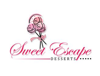sweet escape desserts logo design 48hourslogocom