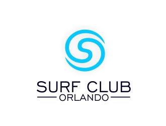 Surf Club Orlando logo design