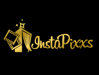 InstaPixxs logo design