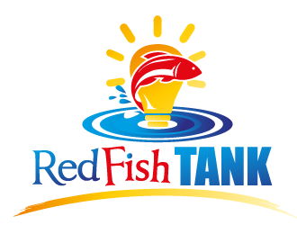 RedFish Tank logo design