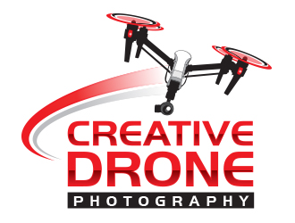 Creative Drone Photography logo design