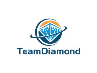 TeamDiamond logo design