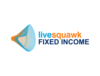 LIve Squawk Fixed income logo design
