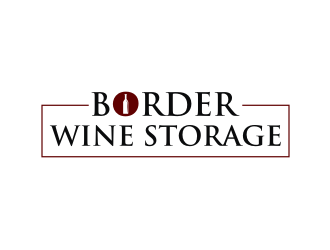 Border Wine Storage logo design