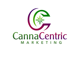CannaCentric Marketing logo design