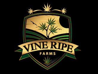 Vine Ripe Vineyards logo design