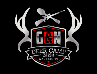 G&N Deer Camp 2016 logo design