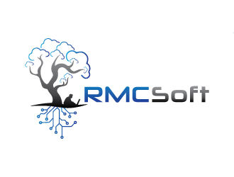 RMCSoft llc logo design