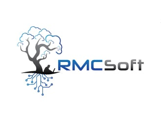 RMCSoft llc logo design