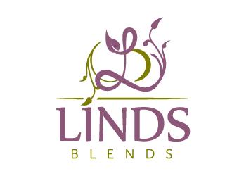 Linds Blends logo design