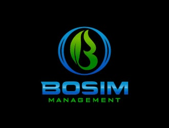 Bosim Management logo design