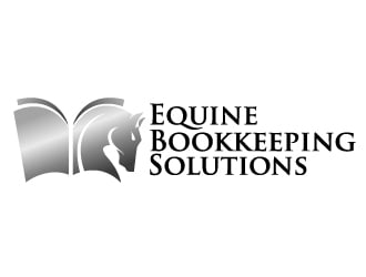 Equine Bookkeeping Solutions logo design