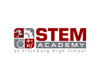 STEM Academy at Fitchburg High School logo design