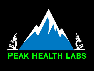 Peak Health Labs logo design