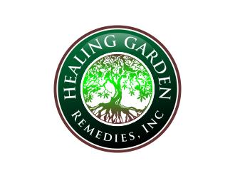 Healing Garden Remedies Inc Logo Design 48hourslogo Com
