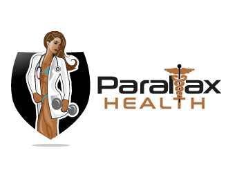 Parallax Health logo design