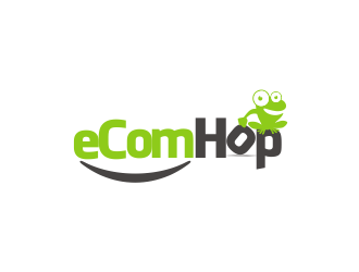 eComHop logo design