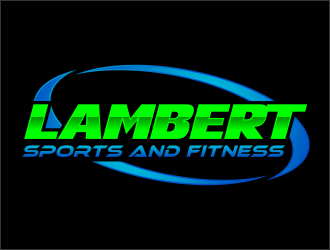 Lambert Sports and Fitness logo design