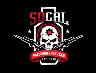 SoCal Precision Rifle Team logo design