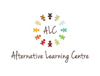 The Alternative Learning Centre or The ALC logo design