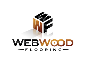 Web Wood Flooring PTY. LTD. logo design