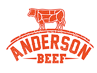 Anderson Beef logo design