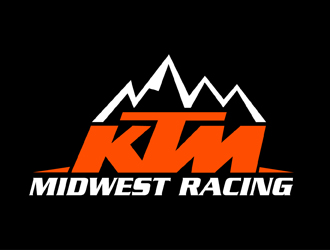 KTM Midwest Racing logo design
