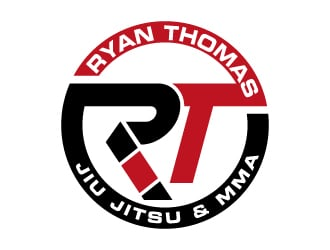 Ryan Thomas Jiu Jitsu & MMA logo design