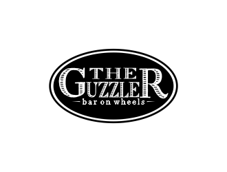 The Guzzler logo design