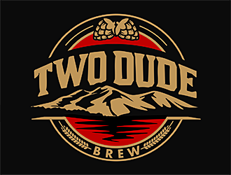 Two Dude Brew logo design