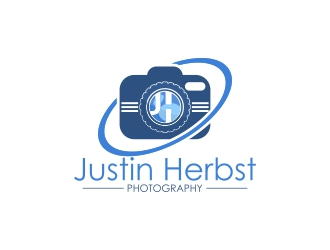 Justin Herbst Photography logo design
