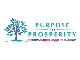 Purpose to Prosperity logo design