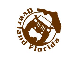Overland Florida logo design