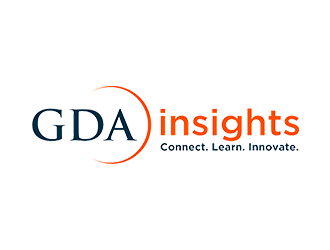 GDA Insights logo design