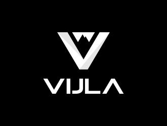 VIJLA or Vijla logo design