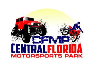 Central Florida Motorsports Park (CFMP) logo design