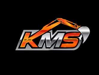 KMS logo design