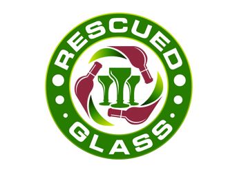 Rescued Glass logo winner