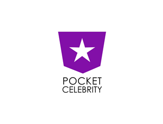 Pocket Celebrity logo design
