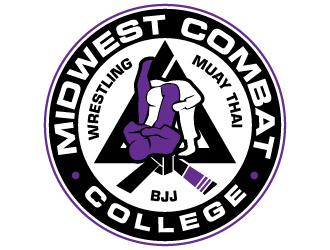 Midwest Combat College logo design