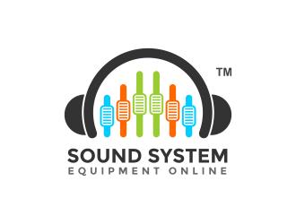 Sound System Equipment Online logo design