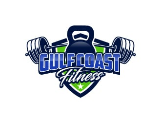 Gulf Coast Fitness logo design