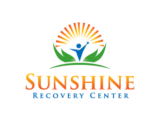 Sunshine Recovery Center logo design