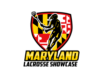 Maryland Lacrosse Showcase logo design