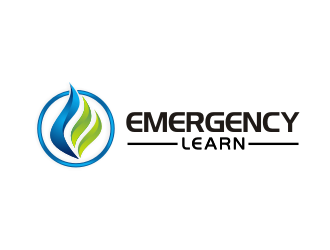 Emergency Learn logo design
