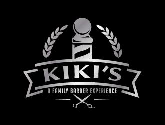 "KiKi's ""A Family Barber Experience"" logo design"