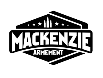 Mackenzie Armement logo design