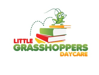 Little Grasshoppers Daycare logo design