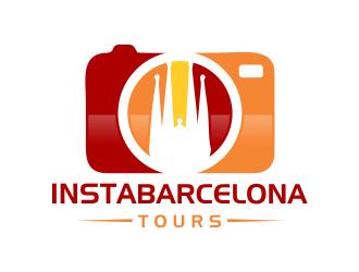 InstaBarcelona logo design