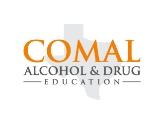 Comal Alcohol & Drug Education logo design